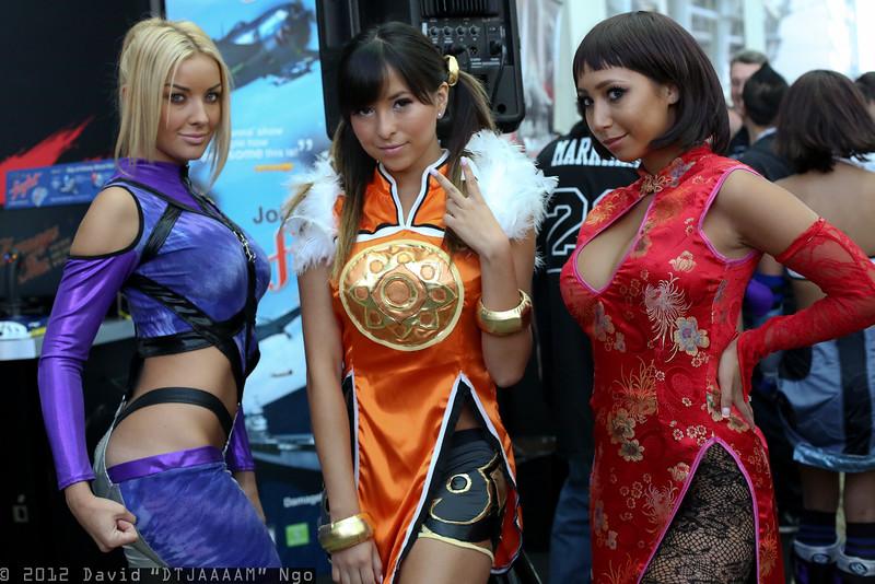 Nina Williams, Ling Xiaoyu, and Anna Williams