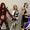 Katarina, Lux, and Ashe