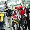 Maya, Bandit, Lilith, Mordecai, and Booker DeWitt