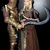 Knight Lautrec of Carim and Anastacia of Astora