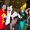Aang, Appa, Suki, and Korra