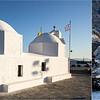 Chapelle à l'entrée du port de l'île d'AEGINE