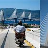 Le pont RION-ANTIRION reliant le continent au Péloponnèse