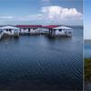 MISSOLONGHI - Maisons de pêcheurs et chapelle sur la lagune