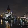 La  Moselle et le temple neuf
