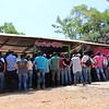 Una de las reuniones promovidas por Ccalcp en el Catatumbo.