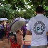 PBI acompaña a la OFP (Organización femenina Popular) durante el acto de instalación de un Monumento Conmemorativo alusivo a la memoria de la organización y de las luchas de las mujeres en el territorio de Barrancabermeja, realizado el 21 de diciembre de 2016. El acto, al que acudieron un centenar de mujeres y personas allegadas y amigas de la OFP, recordaba el papel de Diofanol Sierra Vargas y se realizó bajo un aguacero inoportuno en el barrio Nueva Esperanza .