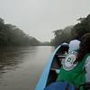 Rio de Oro, Norte de Santander. Durante los acompañamientos a menudo nos<br /> movemos por río para en zonas aisladas.
