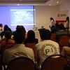 Brigadistas de PBI acompañan a CREDHOS en el acto público de su notificación como sujeto de reparación colectiva que les otorgó la Unidad para la Atención y Reparación Integral a las Víctimas en diciembre en Barrancabermeja.