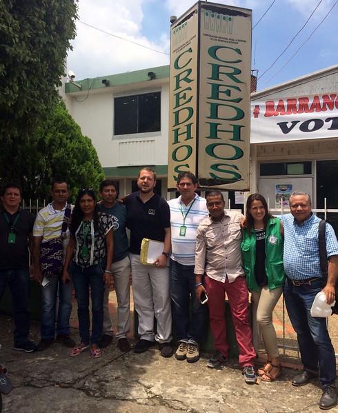 Visita de la Unión Europea a Barrancabermeja