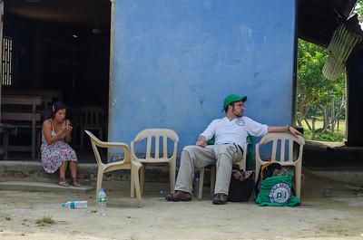 Yeimy y Stephan en Puerto Iguana