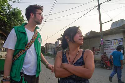 Stephan acompaña a Yeimy en Nechí