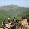 Una vista de la valle, en camino hacía el Portón Rojo