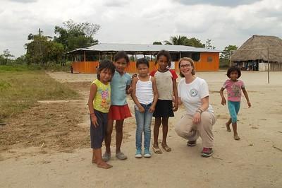 Aco en Mapiripán (Meta) a la CIJP. Laetitia y Michael, febrero de 2017