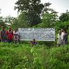 Creación Zona de Biodiversidad la Esmeralda, en El Guamo (Curbaradó), Hernan Bedoya, Eliodoro Polo, familia Durango, Javier y Maria fernanda (Cijp) julio del 2017