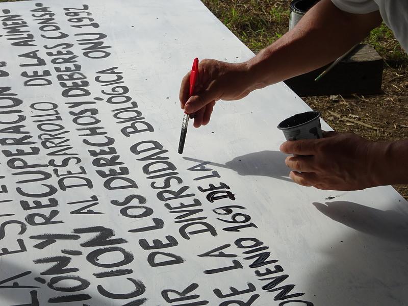 Viaje al Guamo, Curbaradó, <br /> Nathalie y Gerardo, Julio de 2017<br /> Acompañamiento a María Fernanda Villareal y Javier Rosero (Equipo Misionero Cijp)
