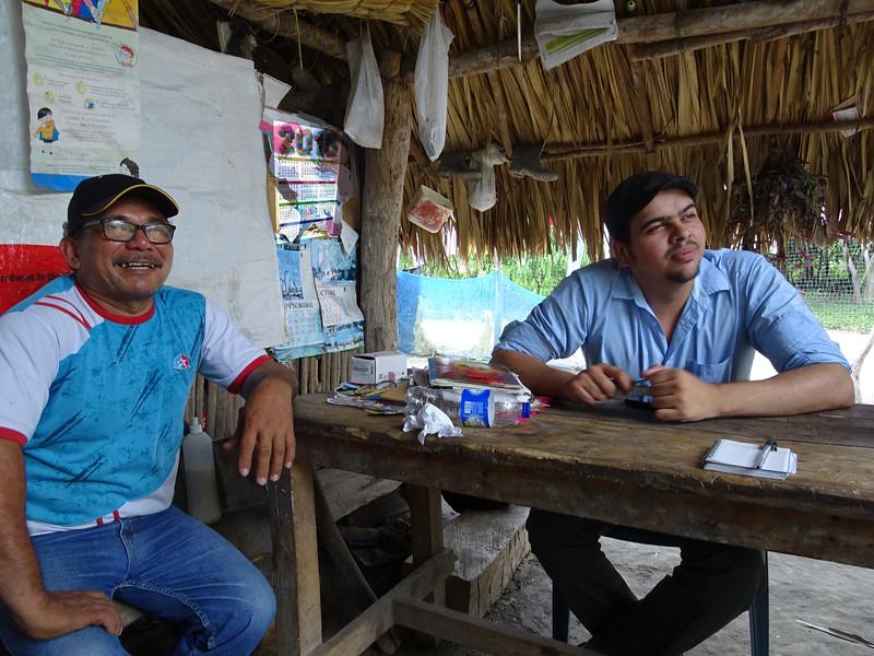 Argemiro Lara y Rodrigo Ramírez (finca La Europa)