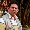 Estebán Nieves, desde 2010 en la directiva de Credhos, hoy en día es su tesorero. También es promotor de derechos humanos en San Vicente de Chucurí y el Carmen.