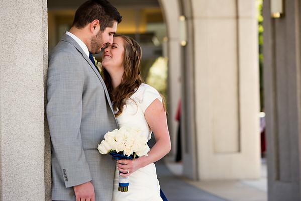 David & Megan {Wedding}