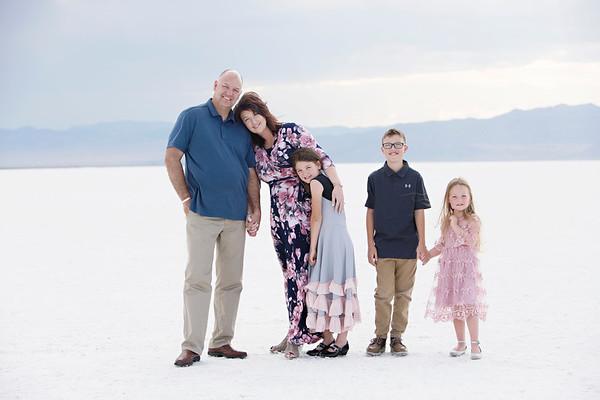 Cloe Hewett {Salt Flat Family Mini Session}