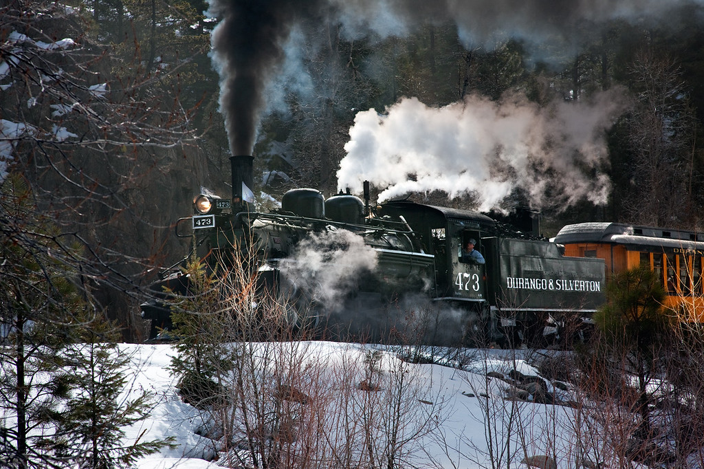 STEAMING THROUGH A PASS