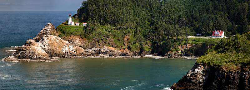 HECETA HEAD LIGHTHOUSE PANORAMA