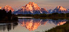 REFLECTION OF MOUNT MORAN