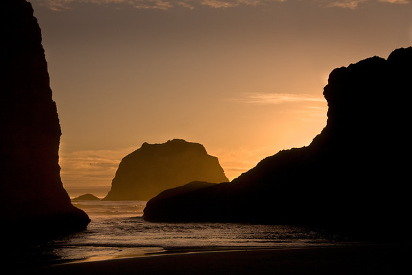 THE SENTRIES OF BANDON BEACH