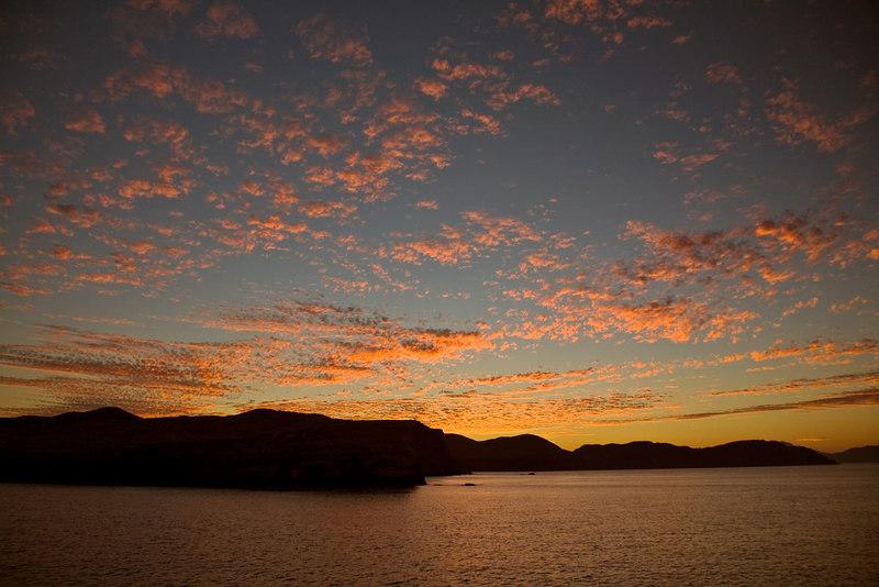 POPCORN SKY--SEA OF CORTEZ