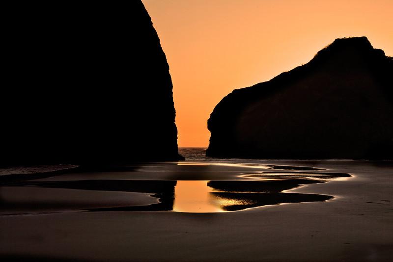 LOW TIDE--MEYER'S BEACH, OREGON