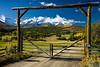 COLORADO RANCH GATE