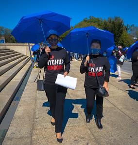 Stop the Uyghur Genocide Rally -Washington DC