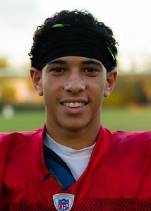 Palm Beach Lakes High School Football Quarterback Armani Edden, on Wednesday, November 04, 2015.