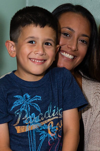 Mariana Lovecchio, 28, of Wellington, Florida,  and her son on Sunday May 22, 2016 in Loxahatchee, FL. Lovecchio, a former heroin addict, has been a resident in the younger women's sober home since December 2015 and has been sober for over 100 days. Sunday was her son's 6th birthday and the birthday party was held at the sober home where Mariana currently resides. [PER MOTHER, DO NOT TO USE THE CHILD'S NAME IN THE CUTLINE] (Joseph Forzano / The Palm Beach Post)