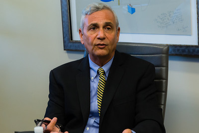 Dr. Tony Campo, MD, and Medical Director of Caron Renaissance Treatment Center in Boca Raton, Florida, on Thursday, June 2, 2016. Campo spoke to Post reporters about how the treatment facility functions. Caron requires patients make a minimum 84 day committment to treatment. Most patients stay in treatment for 3 - 6 months. Post-treatment patients go into a F.A.R.R. approved and certified sober home.  (Joseph Forzano / The Palm Beach Post)