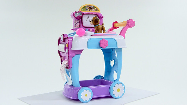 Doc McStuffins Doctor Set- Hot Toy Test Lab (Joseph Forzano / The Palm Beach Post)
