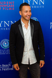Howie Dorough of the Backstreet Boys on the red carpet of the 2018 Palm Beach Film Festival Student Showcase of Film. The festival was held at the Wold Theater on the Lynn University Campus in Boca Raton on Friday, March 6, 2018.  (Joseph Forzano / The Palm Beach Post)