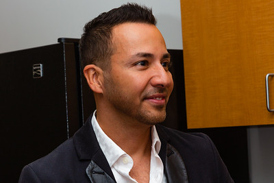 Howie Dorough of the Backstreet Boys is interviewed backstage before the start of the 2018 Palm Beach Film Festival Student Showcase of Film. The festival was held at the Wold Theater on the Lynn University Campus in Boca Raton on Friday, March 6, 2018.  (Joseph Forzano / The Palm Beach Post)