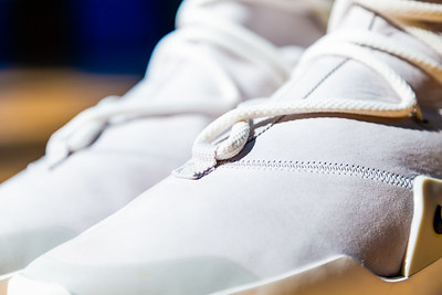 "Fashion designer Jerry Lorenzo, founder of streetwear label Fear of God and son of former Major League Baseball manager Jerry Manuel, is paying it forward with the new Nike Air Fear of God 1 Light Bone, a high top, leather and suede sneaker with a ""light bone"" color. Lorenzo  donated the sneakers to the Wellington High School boys and girls basketball teams. Each pair costs $350.00. Image captured on Wednesday, January 16, 2019 at Wellington High School, in Wellington, Florida. [JOSEPH FORZANO/palmbeachpost.com]"