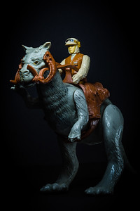 Star Wars Day - May the Fourth Be With You.  Rebel soldier, riding a Tauntaun in Hoth gear.  [JOSEPH FORZANO/palmbeachpost.com]