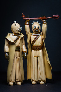 Star Wars Day - May the Fourth Be With You.  A pair of Tusken Raiders. [JOSEPH FORZANO/palmbeachpost.com]