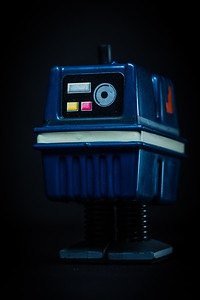 Star Wars Day - May the Fourth Be With You.  Power droid, an ambulatory battery. [JOSEPH FORZANO/palmbeachpost.com]