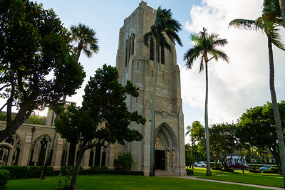 The Church of Bethesda-by-the-Sea in Palm Beach, where the annual Blessing of the Animals  service took place on Sunday, October, 6, 2019. [JOSEPH FORZANO/palmbeachpost.com]