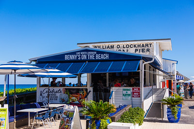 Benny's on the Beach, located at 10 S Ocean Blvd, Lake Worth, on Wednesday, November 20, 2019. [JOSEPH FORZANO/palmbeachpost.com]