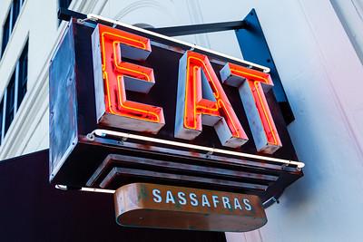 Sassafras, located at 105 S Narcissus Ave., West Palm Beach, FL, on Friday, November 22, 2019. [JOSEPH FORZANO/palmbeachpost.com]