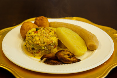 A Jamaican national dish , Ackee and Saltfish served at Blue Mountain Coffee House, located at 540 Clematis Street, #3, in West Palm Beach, FL on Thursday, February 20, 2020. [JOSEPH FORZANO/palmbeachpost.com]