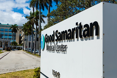 Good Samaritan Medical Center in West Palm Beach on Monday, March 23, 2020. [JOSEPH FORZANO/palmbeachpost.com]
