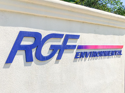 RGF Environmental Group in Riviera Beach on Friday, March 27, 2020. Since the global coronavirus outbreak, their sales are up 500 percent, and they have added a third shift in their Riviera Beach  factory. [JOSEPH FORZANO/palmbeachpost.com]