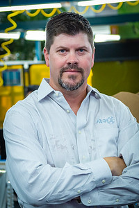 Mat Charles, Vice President of the RGF Environmental Group Air Production Division, at the RGF manufacturing plant in Riviera Beach on Friday, March 27, 2020. Since the global coronavirus outbreak, their sales are up 500 percent, and they have added a third shift in their Riviera Beach  factory. [JOSEPH FORZANO/palmbeachpost.com]