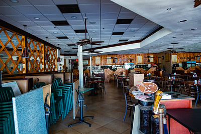 John G's in Manalapan is closed due to the coronavirus pandemic, Thursday, April 2, 2020. The iconic restaurant has been closed since Sunday, March 22. [JOSEPH FORZANO/palmbeachpost.com]